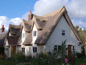 Re-ridged Traditional Thatch