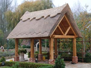 Thatched Out-Building